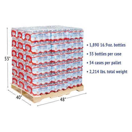 Alpine Spring Water 16 9 Oz Bottle 35 Case 54 Cases