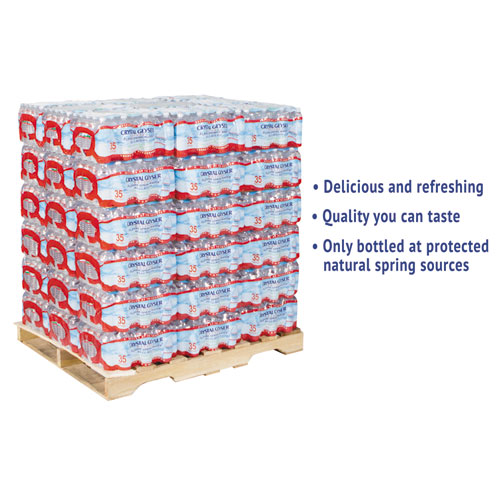 Alpine Spring Water, 16.9 oz Bottle, 35/Case, 54 Cases/Pallet