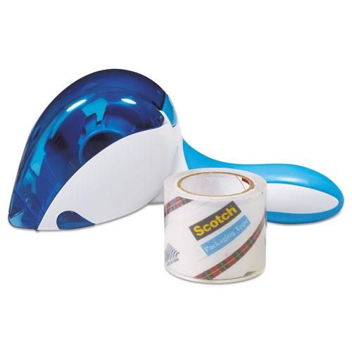 Easy Grip Tape Dispenser, 1 Dispenser  1 Roll at 1.88 x 600
