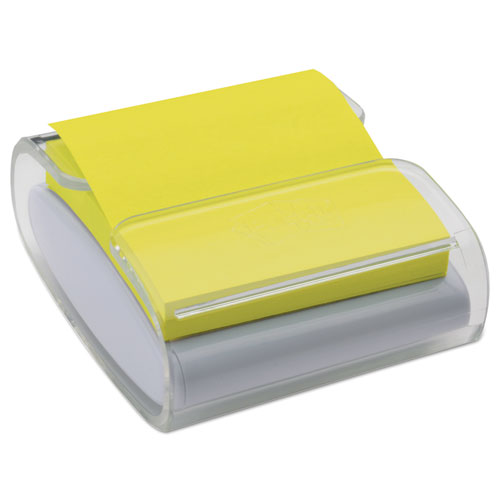 Wrap Dispenser, For 3 x 3 Pads, White/Clear