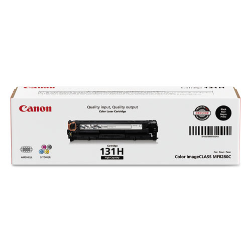 Canon® 6273B001 (CRG-131) High-Yield Toner, Black