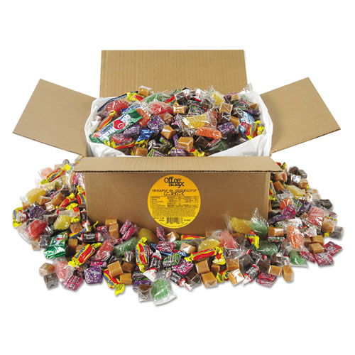 Soft and Chewy Candy Mix, Individually Wrapped, 10 lb Values Size Box