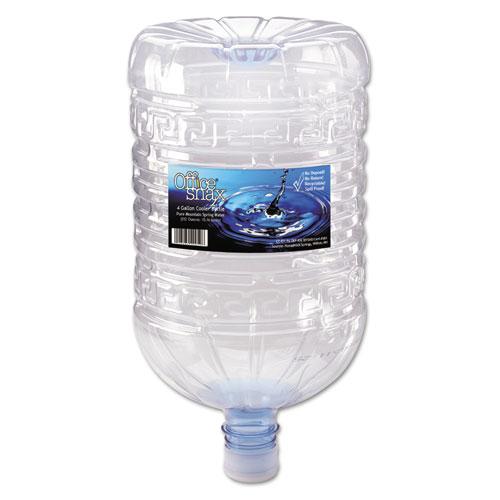 Office Snax® Bottled Spring Water, 4 Gallon Bottle