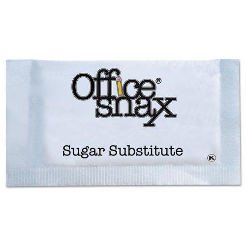Office Snax® Yellow Sweetener, 2000 Packets/Carton