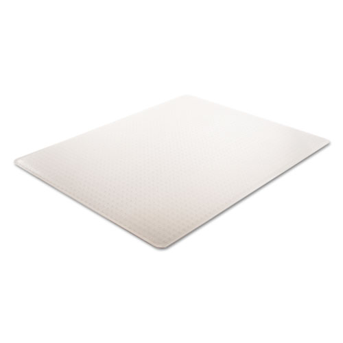 intense all day use chair mat for high pile carpet 46 x 60 clear