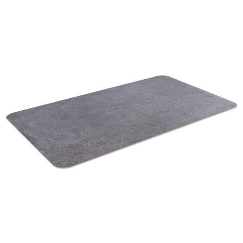 Crown Workers-Delight Slate Standard Anti-Fatigue Mat, 24 x 36, Dark Gray