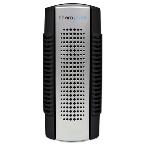 Therapure® Mini Plug-In Collection Blade Air Purifier, One Speed, Black/Silver