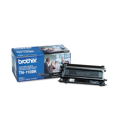 TN110BK Toner, 2500 Page-Yield, Black