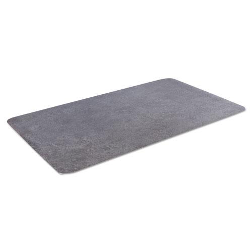 Workers-Delight Slate Standard Anti-Fatigue Mat, 36 x 60, Dark Gray
