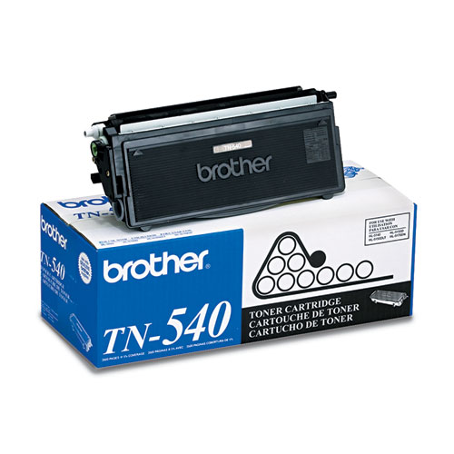 TN540 Toner, 3500 Page-Yield, Black