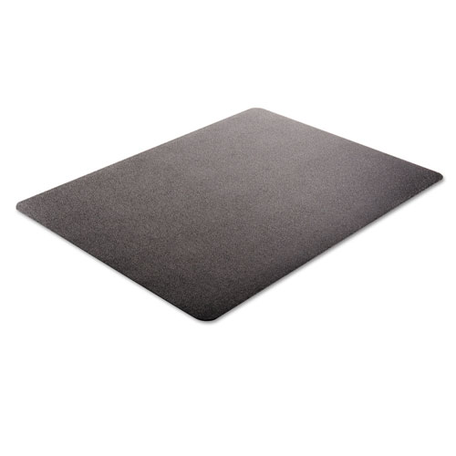 economat anytime use chair mat for hard floor 45 x 53 black