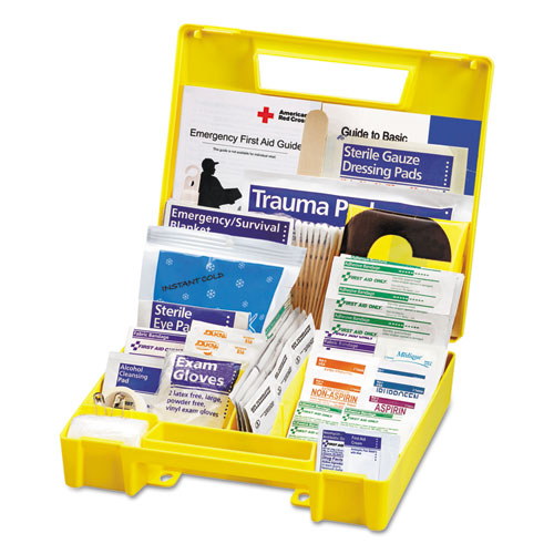 Essentials First Aid Kit for 5 People, 138 Pieces/Kit