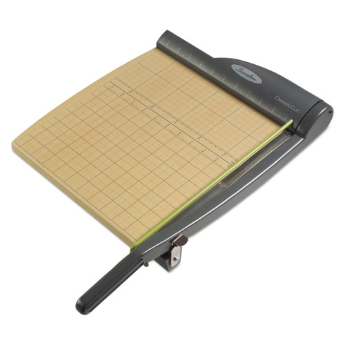 Swingline® ClassicCut Pro Paper Trimmer, 15 Sheets, Metal/Wood Composite Base, 12 x 12