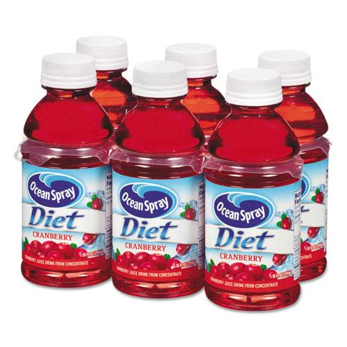 Ocean Spray® Cranberry Juice Drink, Diet Cranberry, 10 oz Bottle, 6/Pack