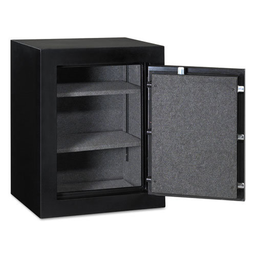 Executive Fire-Safe, 3.4 cu ft, 21.75w x 19d x 27.75h, Black