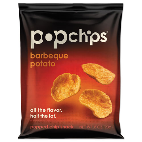 Potato Chips, BBQ Flavor, 0.8 oz Bag, 24/Carton