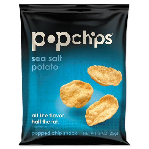 Potato Chips, Sea Salt Flavor, 0.8 oz Bag, 24/Carton