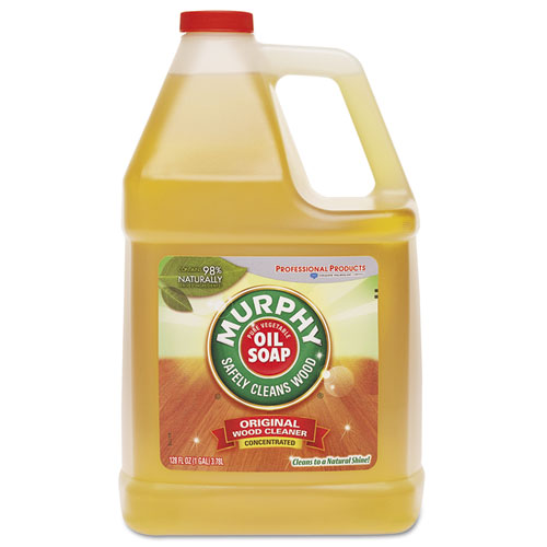 Murphy® Oil Soap Cleaner, Murphy Oil Liquid, 1 Gal Bottle, 4/Carton
