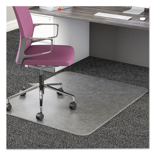 deflect o ultramat all day use chair mat for high pile carpet 46 x