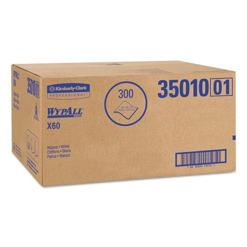 X60 Shower Towels, 22 1/2 x 39, White, 100/Box, 3 Boxes/Carton