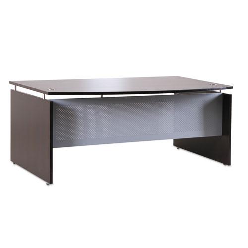 Alera® Alera Sedina Series Bow Front Desk Shell, 72w x 42d x 29 1/2h, Espresso