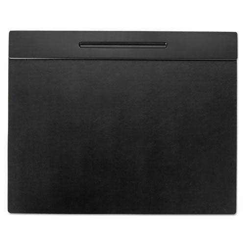 Wood Tone Desk Pad Black 21 X 18 Thegreenoffice Com
