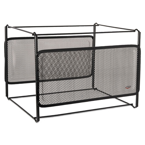 Letter Size Mesh File Frame Holder, Wire, 12 3/8 x 11 3/8 x 9 5/8 ...