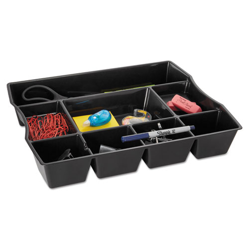 Rub21864 Rubbermaid Nine Compartment Deep Drawer Organizer