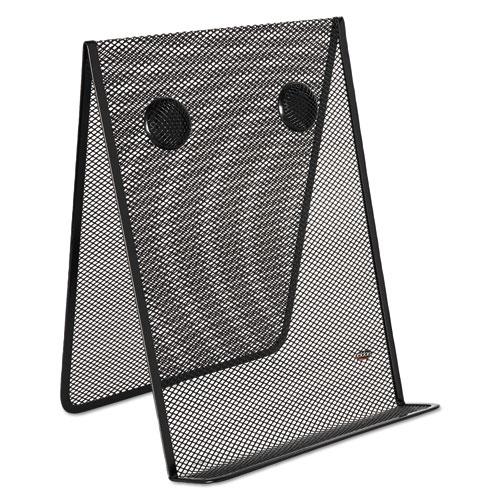 Mesh Document Holder, Stainless Steel, Black