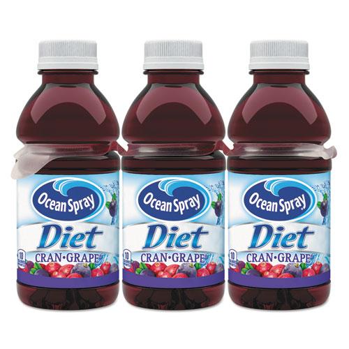 Ocean Spray® Diet Cranberry Juice Drink, Cranberry Grape, 10 oz Bottle, 6/Pack