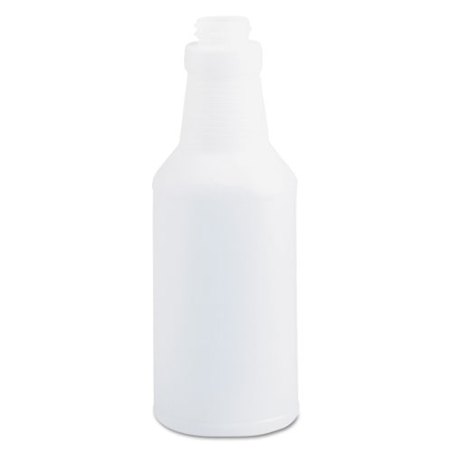 Boardwalk® Handi-Hold Spray Bottle, 16 oz, Clear, 24/Carton