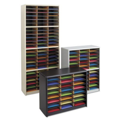Safco Steel Fiberboard Literature Sorter 24 Sections 32