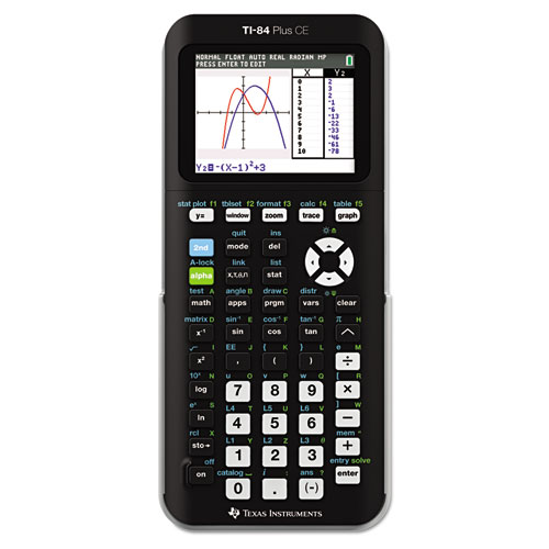 TI-84 Plus CE Programmable Color Graphing Calculator | by Plexsupply