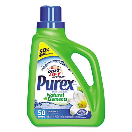 Ultra Natural Elements HE Liquid Detergent, Linen and Lilies, 75 oz Bottle