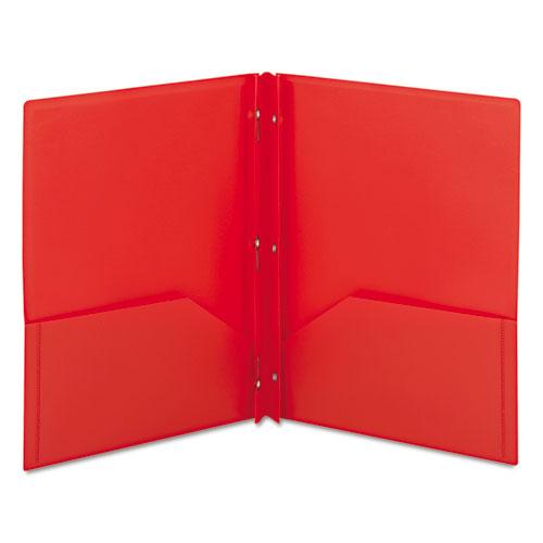 Poly Folders With Fasteners Amazon Com: SMD87727 Smead Poly Two-Pocket Folder W/Fasteners
