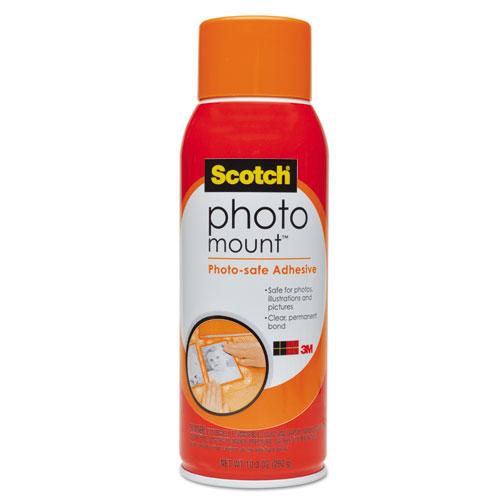 Photo Mount Spray Adhesive, 10.25 oz, Dries Clear | by Plexsupply