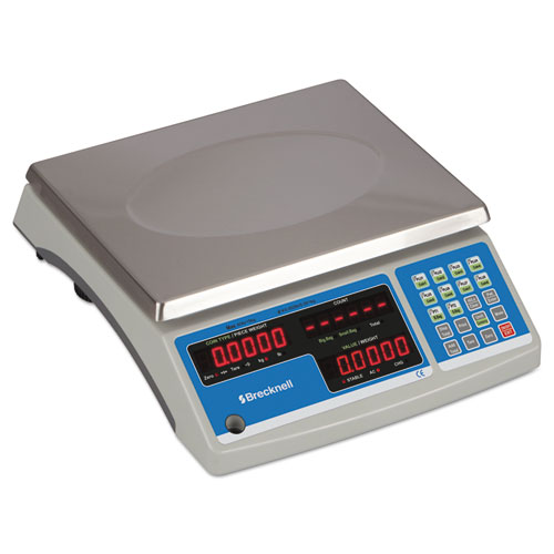 Electronic 60 lb Coin and Parts Counting Scale, 11 1/2 x 8 3/4, Gray