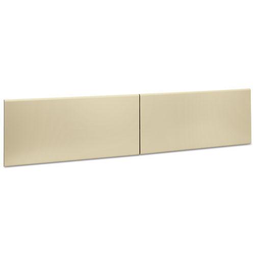 38000 Series Hutch Flipper Doors For 72w Open Shelf, 36w x 15h, Putty