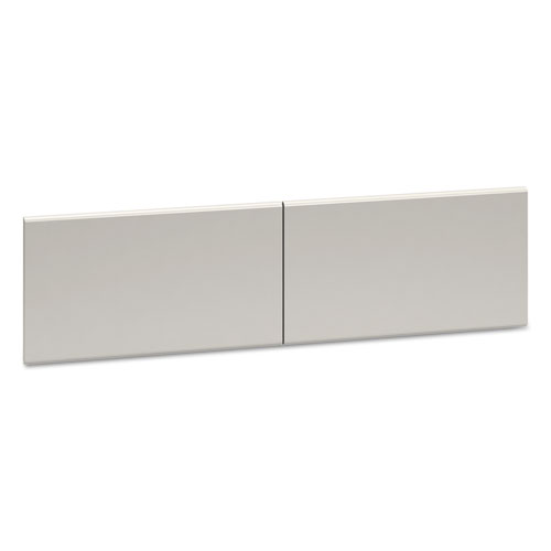 38000 Series Hutch Flipper Doors For 60w Open Shelf, 30w x 15h, Light Gray