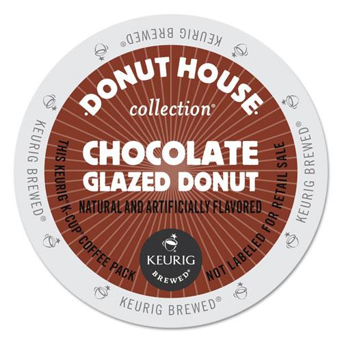 Chocolate Glazed Donut Coffee K-Cups, 96/Carton 6722CT
