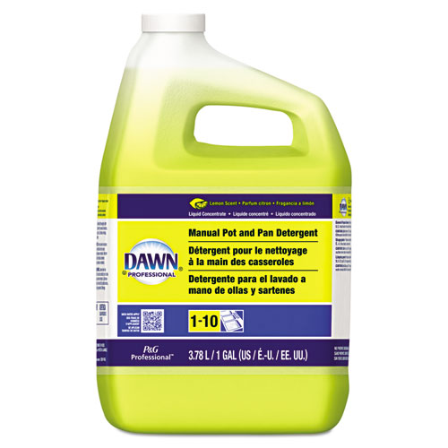 Manual Pot/Pan Dish Detergent, Lemon