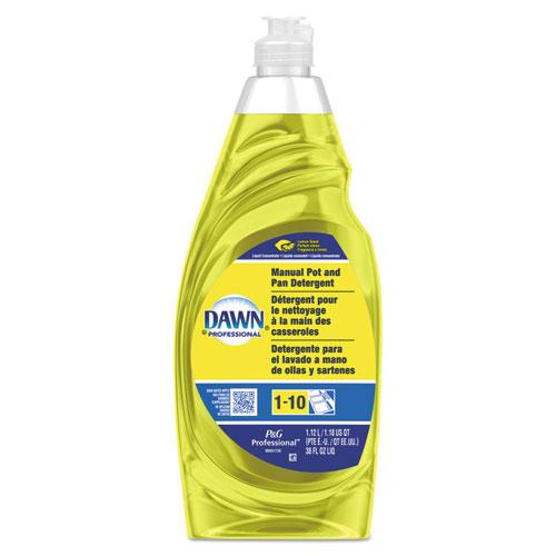 Manual Pot/Pan Dish Detergent, Lemon, 38 oz Bottle