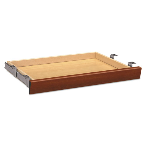 Laminate Angled Center Drawer, 26w x 15 3/8d x 2 1/2h, Cognac