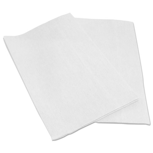 Foodservice Wipers, White, 13 x 21, 150/Carton