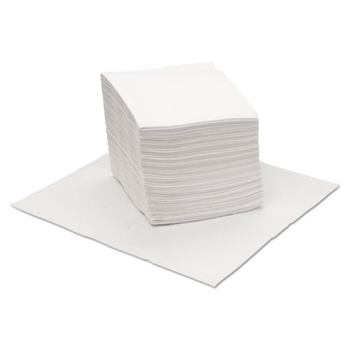 DRC Wipers, White, 12 x 13, 18 Bags of 56, 1008/Carton