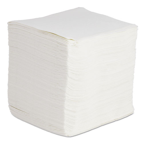 DRC Wipers, White, 12 x 13, 12 Bags of 90, 1080/Carton