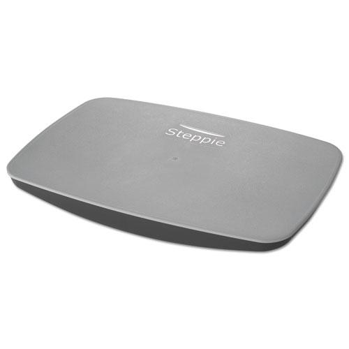 Steppie Balance Board, 22.5w x 14.5d x 2.13h, Two-Tone Gray
