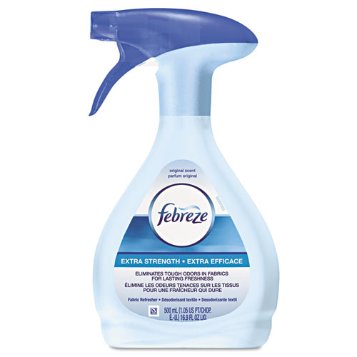 Febreze® FABRIC Refresher/Odor Eliminator, Extra Strength, Original, 16.9 oz Spray Bottle