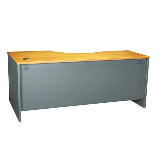 Bush® Series C Collection 72W Right Hand Corner Module, Mocha Cherry/Graphite Gray