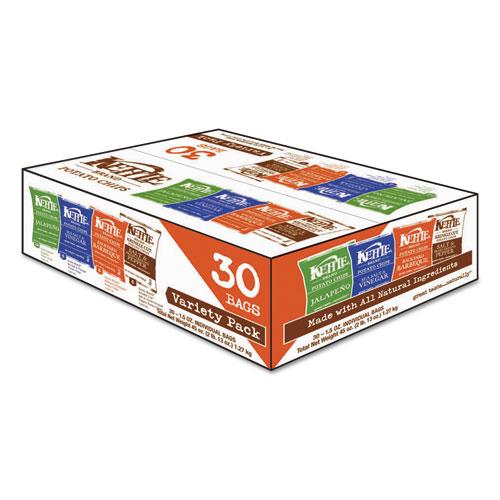 Potato Chips, Assorted Flavors, 1.5 oz Bag, 30/Carton